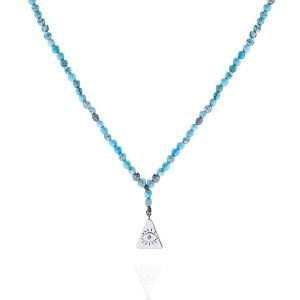 Necklace Small Triangle Eye